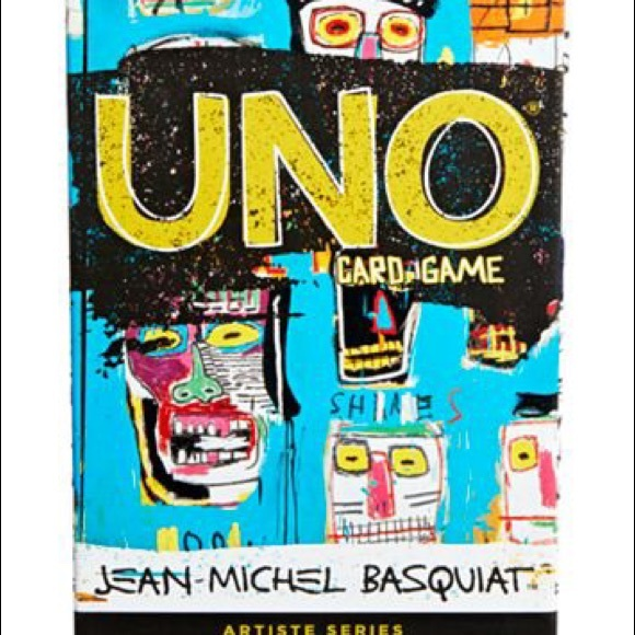 #1 Basquiat Uno playing cards. Limited Edition